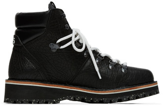 Paul Smith Black Ash Hiking Boots