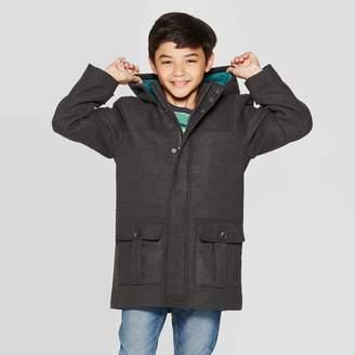 Cat & Jack Boys' Faux Wool Fashion Jacket - Cat & JackTM