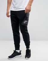 Nike International Skinny Joggers In Black 802486-010