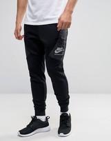Nike International Skinny Joggers In Black 802486-010