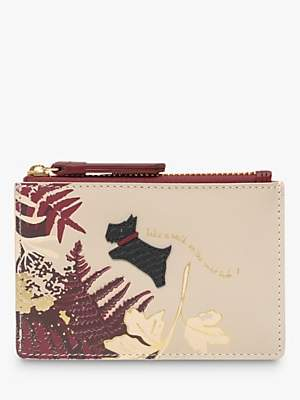 Radley Wild Side Leather Small Zip Top Coin Purse