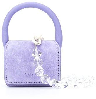 belysa Logo Debossed Mini Bag