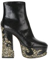 Marc Jacobs Stasha platform boots - women - Leather/PVC - 39