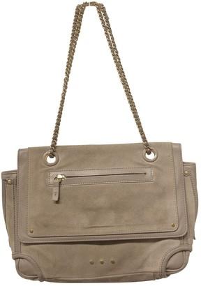 Jerome Dreyfuss Benjamin Grey Suede Handbags