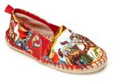 Dolce & Gabbana Girl's Printed Espadrille Flats