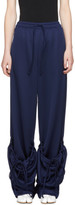 J.W.Anderson Blue Pocket Hem Lounge Pants