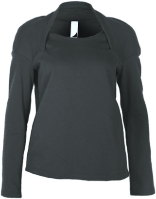 Format HOME Black Sweater - XS - Grey/Black/Blue