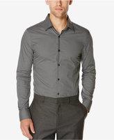 Perry Ellis Men's 3D Geo-Print Long-Sleeve Shirt