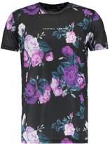 Criminal Damage Puglia Print Tshirt Black/multi