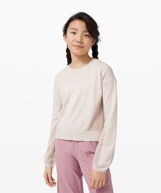 Lululemon In The Now Pullover - Girls