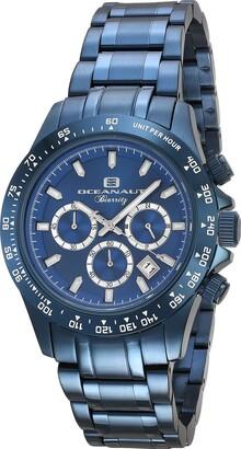 Oceanaut Men's Biarritz Stainless Steel Analog-Quartz Watch with Stainless-Steel Strap
