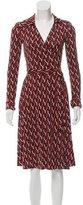 Diane von Furstenberg Silk Julie Dress