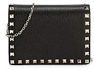 Valentino Women's Garavani Rockstud Leather Shoulder Bag