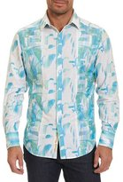 Robert Graham Limited Edition Pier View Embroidered Shirt, Bright Blue