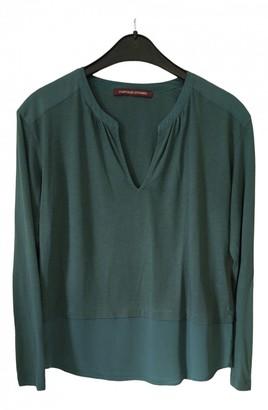 Comptoir des Cotonniers Green Cotton Top for Women