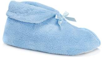 Muk Luks Women's Micro Chenille Slipper Bootie L