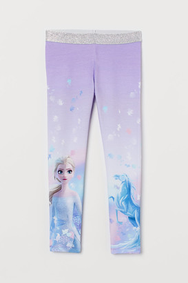 H&M Printed Leggings - Purple