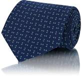 Ralph Lauren Purple Label Men's Geometric-Print Silk Necktie
