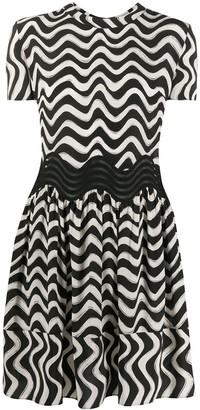 Stella McCartney swirl T-shirt dress