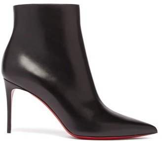 Christian Louboutin So Kate 85 Leather Boots - Black