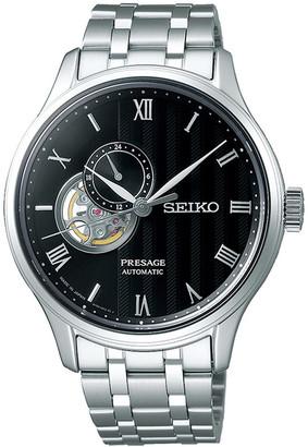 Seiko Presage Silver Watch