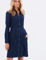 Jag Denim Snap Dress