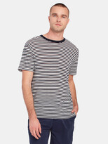 Thumbnail for your product : Scotch & Soda Striped Tencel T-Shirt