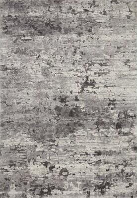 "Loloi Rugs Theory Power Loom Gray Rug Rug Size: Runner 2'7"" x 7'8"""