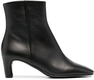 Del Carlo Zipped Ankle Boots