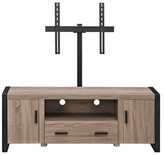"""Walker Edison Reclaimed Wood TV Stand With Mount - Driftwood (60"""")"""