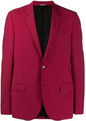Lanvin Contrast Trim Tailored Jacket