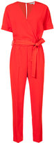 Trina Turk belted jumpsuit - women - Polyester - 4