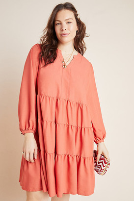 Maeve Amber Tiered Tunic By in Pink Size 1 X