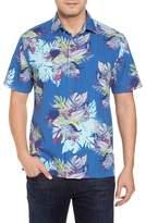 Tommy Bahama Men's Big & Tall Fronds Bouquet Classic Fit Silk Blend Sport Shirt