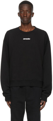 Off-White Black and Red Marker Arrows Sweatshirt