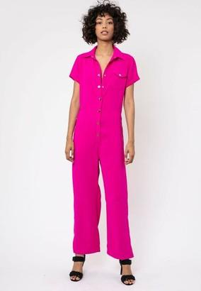 OVERWRITE RELIGION - Escape Jumpsuit Pink - 8