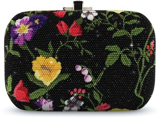 Judith Leiber Couture Morning Glory Slide Lock Customizable Monogram bag