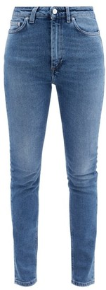 Totême New Standard High-rise Skinny-leg Jeans - Denim