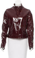 Burberry Patent Leather Jacket