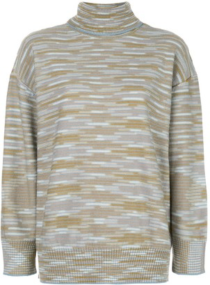 M Missoni Turtleneck Striped Jumper