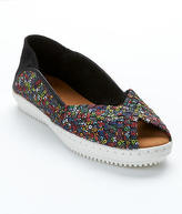 Bernie Mev. Brooke Woven Stretch Flats Shoes - Women's