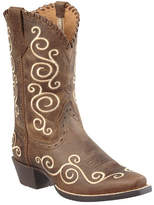 Ariat Girls' Shelleen - Distressed Brown Full Grain Leather Boots