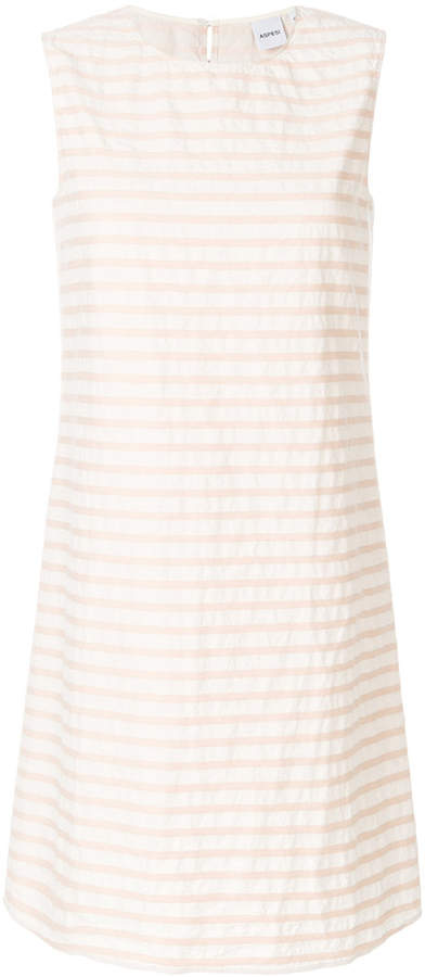 Aspesi striped mini dress