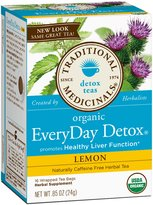 Traditional Medicinals Everyday Detox Lemon