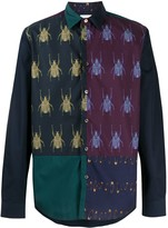Paul Smith Beetle colour-block shirt