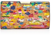 Milly Splatter Cork Small Frame Clutch