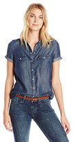 Levi's Women's Short Sleeve Western Shirt