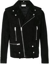 Saint Laurent Classic suede motorcycle jacket