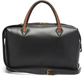 Métier Metier - Perriand Medium Leather City Bag - Womens - Black Multi