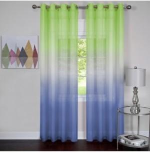 Achim Rainbow Single Grommet Window Curtain Panel, 52x63
